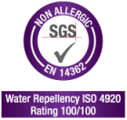 non allergic textile surface