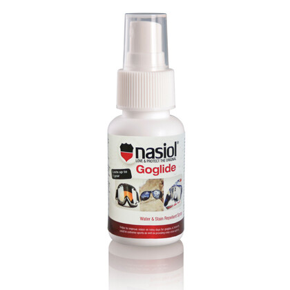 Nasiol Goglide - Rain Repellent Spray for Helmet and Goggle